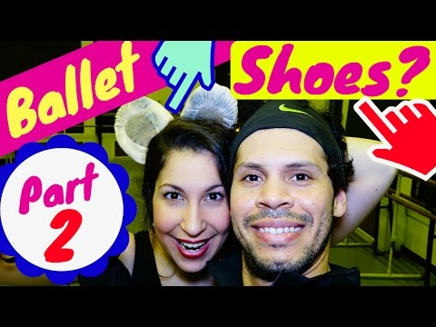ballet shoes review /split sole -part 2- Sansha