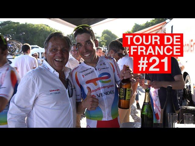 21.07.18 En immersion avec le Team TotalEnergies - Tour de France #21
