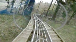 Alpsee Coaster POV - Germany's Longest Alpine Roller Coaster Alpsee Bergwelt, Germany