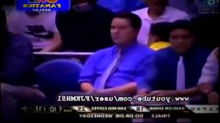 Funny San Mig Ball Boy(Mang Juning) Moment in Game 52014 PBA Governor's Cup Finals