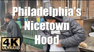 Walking Tour 4K Philadelphia's #1 Worst Hood | NICETOWN Man Shot & Lived To Tell About It RAW UNCUT