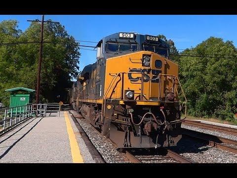 The Sound Of Diesel Train Engines