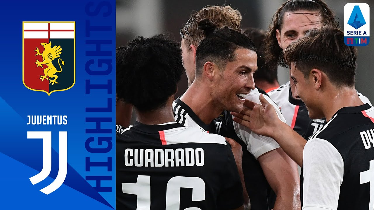 Genoa 1-3 Juventus | Dybala, CR7 & Douglas Costa all on target in Juve win over Genoa! | Serie A