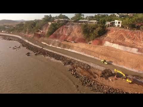 Bird's Eye View of Statue Bay Construction February 2018