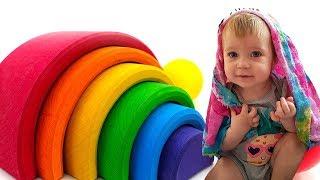 Дада игрушки - Учим цвета и счет - Бьянка и Радуга.