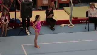 Первое место. Вольные упражнения. Соревнования среди девочек. Камила из г.Ульяновск, 2006 г.р.