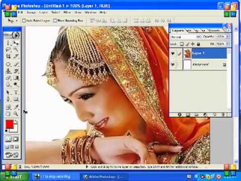 Adobe Photoshop 7 Urdu Tutorial Part 9 of 22 - YouTube