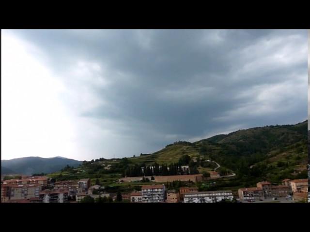 Cel de tempesta al Ripollès - Juliol 2013