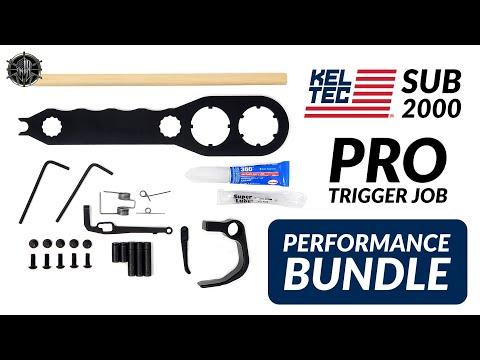 KEL TEC SUB 2000 Pro Trigger Job Performance Bundle   KEL TEC SUB 2000 Accessories!