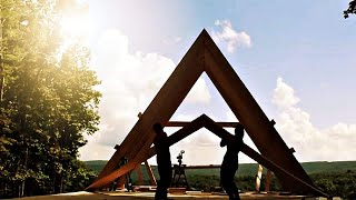 #5: Raising The A's On Our Self Built A-FRAME House