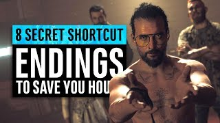 8 Secret Shortcut Endings To Save Hours Of Time