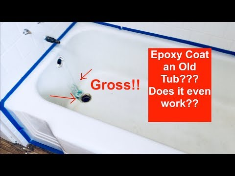 DIY Remodeling A Bathroom: How To Refinish An Old Cast Iron Bathtub