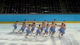 Skyliners Synchronized Ice Skating - Junior Short Program - Prague Cup 2010