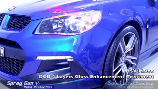 Hsv maloo lsa slipstream bluedefinitive sydney gloss enhancement paint protection treatment.dcd spray gun 4 layers coating with infra red c...