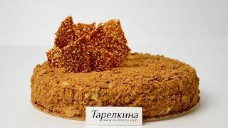 Торт Рыжик - пошаговый видео рецепт