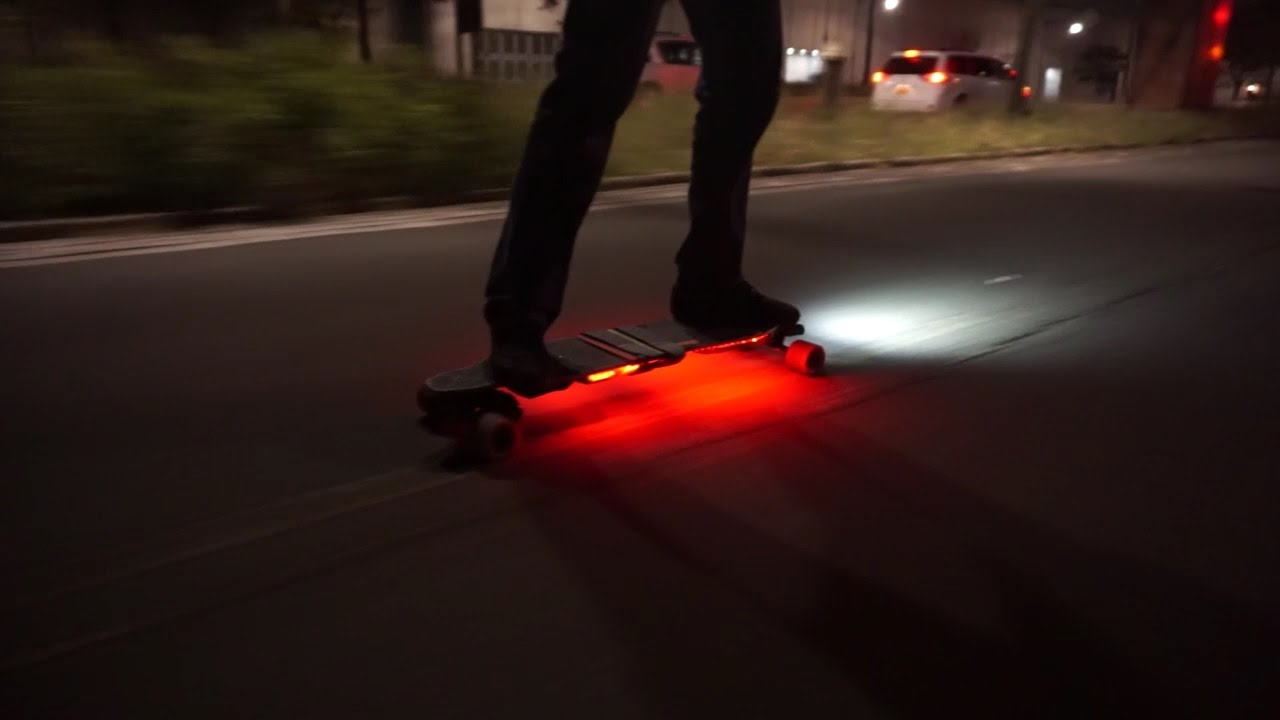 ShredLights - Boosted boards V2 - YouTube