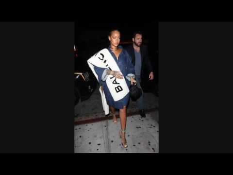 Rihanna spotted at Nobu restaurant