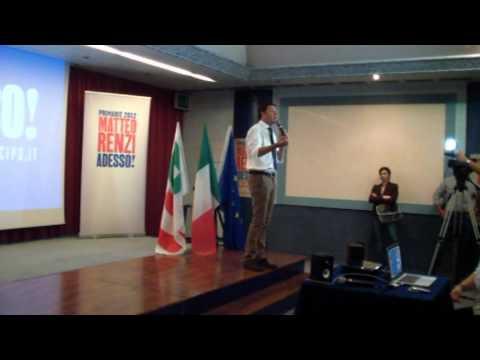 Matteo Renzi a Taranto