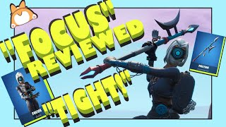 "Complete Honest Review: Fortnite ""FOCUS"" Skin + ""FIXATION"" RARE Pickaxe (Focal Point) /New Item shop"