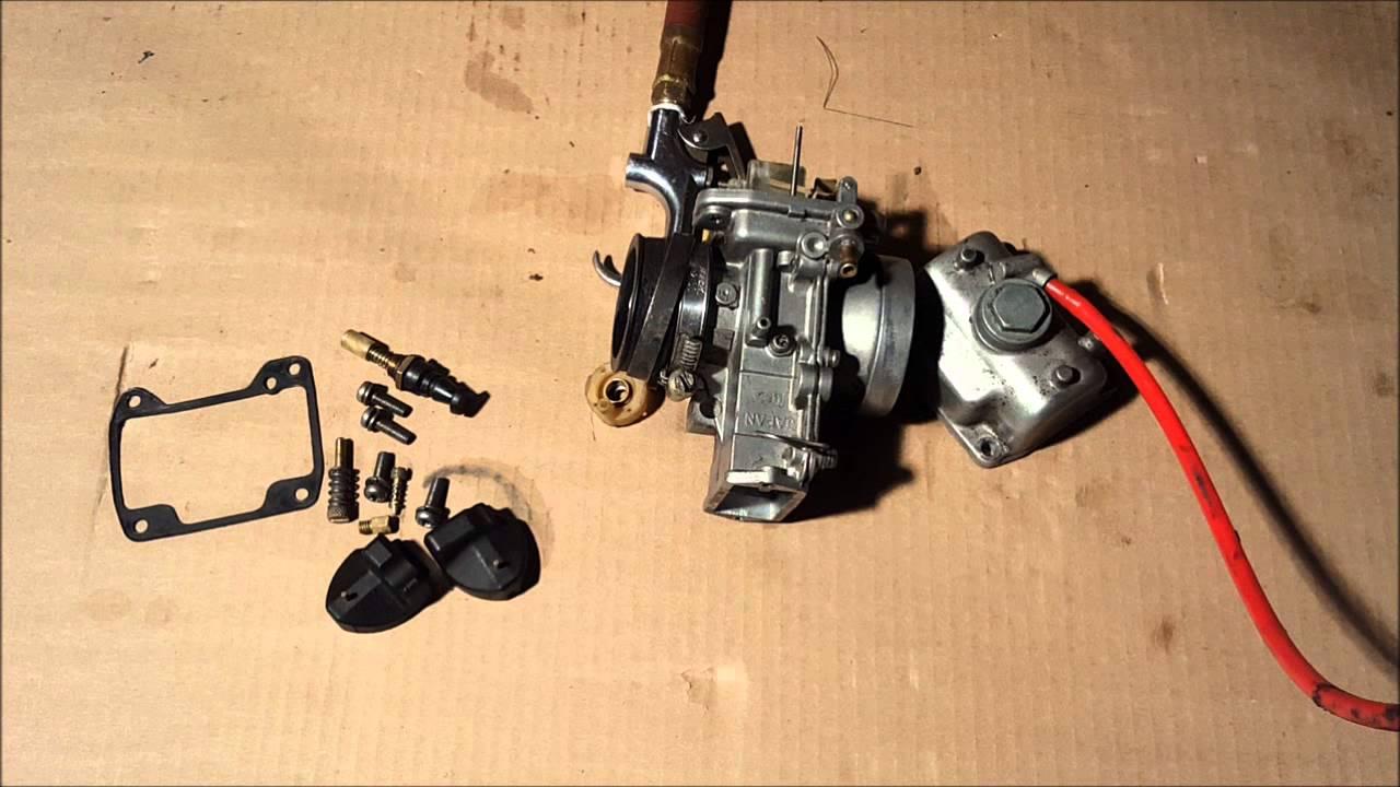 suzuki rm 125 carburetor rebuild  cleaning the correct way