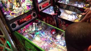Ghostbusters LE - Virtual pinball - 1st play