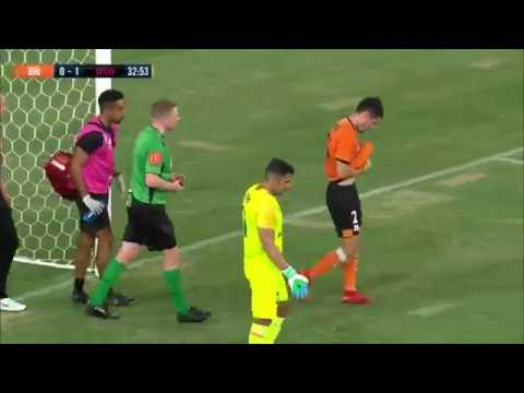 Brisbane Roar vs Western Sydney Wanderers 2-2 All Goals & Highlights 25.01.2019