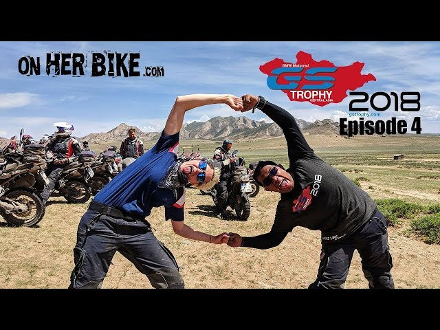 On Her Bike at the GS Trophy in Mongolia - Episode 4