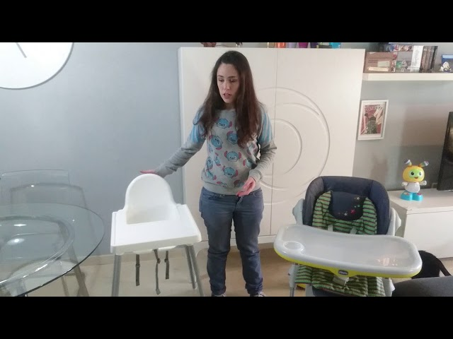 Trona Chicco Polly vs. Ikea Antilop