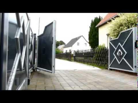 tor einfahrtstor hoftor doovi. Black Bedroom Furniture Sets. Home Design Ideas