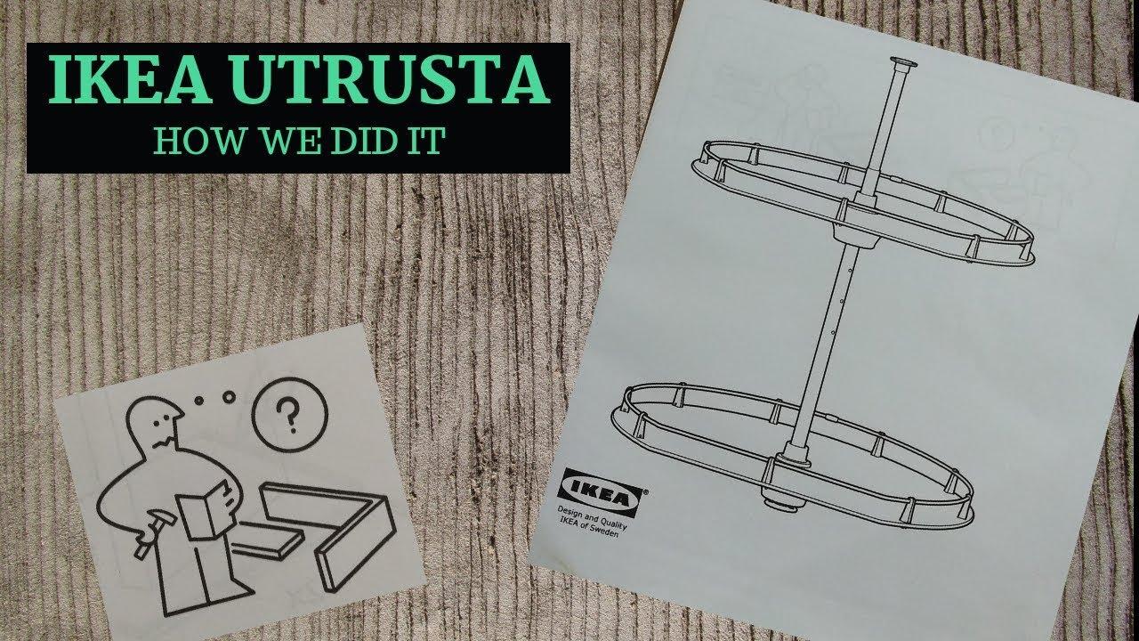 Ikea Utrusta Cabinet Carousel Lazy Susan