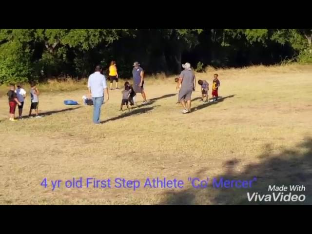 First Step Athletics athlete Cody Mercer
