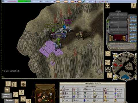 Pvping around Faction dungeon Ultima Online