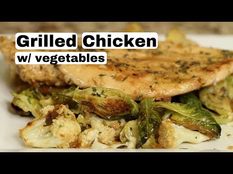 Grilled Chicken With Seasonal Vegetables | A California Pizza Kitchen ReCreation Is Gluten Free
