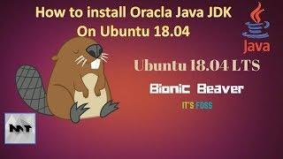 How to install Oracle Java 8 Jdk on Ubuntu 18.04