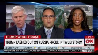 Morning Show Panel discussion on Trump's Tweet storm barely one day after the shooting