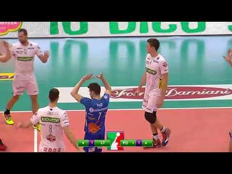 Gli highlights di Taiwan Excellence Latina - Kioene Padova 2-3