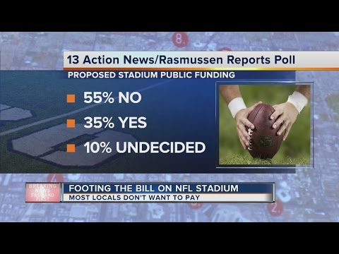 Locals react to potential public funding for football stadium