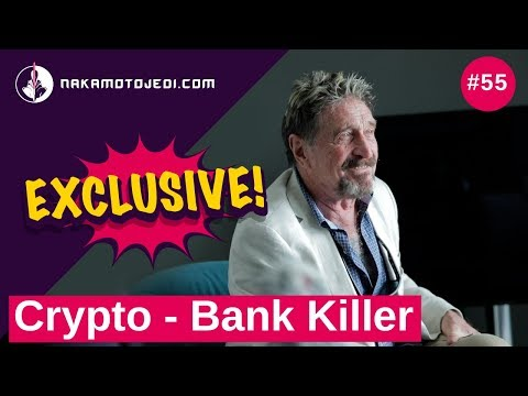 John McAfee crypto legend: blockchain vs governments