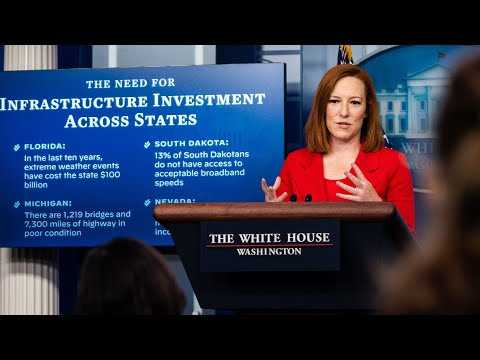 WATCH: White House press secretary Jen Psaki holds news conference