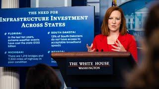 WATCH: White House press secretary Jen Psaki holds news conference