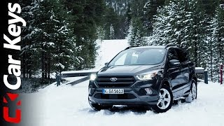 Ford Kuga 2017 4K Arctic Adventure review - Car Keys