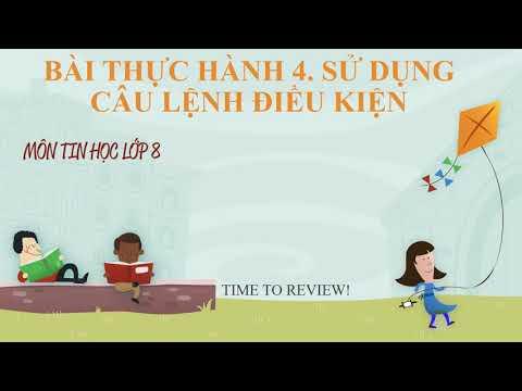 Bài thực hành 4 - Tin học 8