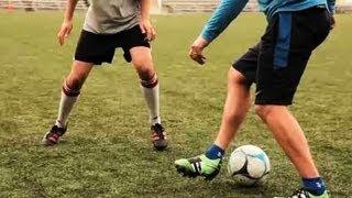 How to do a robinho stepover | soccer lessons