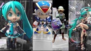 2016 New York Comic Con Good Smile Company Booth Tour NYCC Hatsune Miku Nendoroid Figures Anime Toys