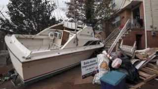 Hurricane Sandy Aftermath Staten Island