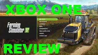 Farming Simulator 17 REVIEW XBOX ONE