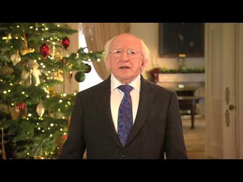President Michael D. Higgins Christmas 2012 and New Year Message