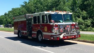 Gambar cover Morningside Rescue Engine 827 Responding to a Box 6/2/17