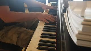Nocturne C#m Chopin - begginer - test new piano CA79 KAWAI
