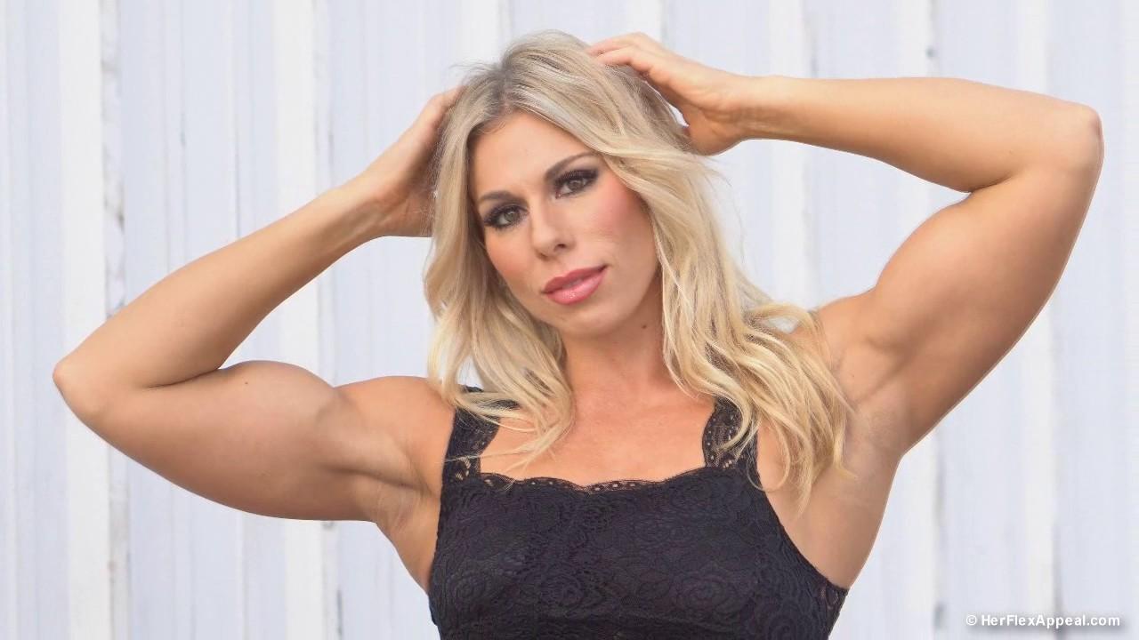 Lauren Brigham Blonde Bombshell Figure Competitor Youtube